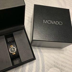 Movado Women's two tone watch